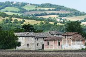 Old Farm In Marches (italy)