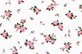 stock photo of fragmentation  - Fragment of colorful retro tapestry textile pattern with floral ornament useful as background - JPG