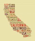 California Word Cloud