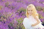 Happy Girl In Field