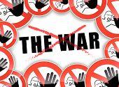 No War Concept
