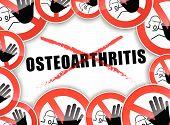 No Osteoarthritis Concept