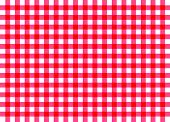 Red Traditional Gingham Background