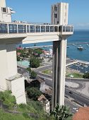 Lacerda Elevator In Salvador Da Bahia. Brazil