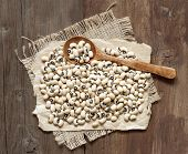 Black Eyed Peas With A Spoon