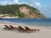 Morro De Sao Paulo Beach. Salvador Da Bahia. Brazil