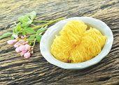 Thai Dessert Name's Foy Thong
