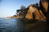 Exotic beach in Ko Sasmui, Thailand