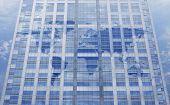 World Maps Wrap On Window Glass