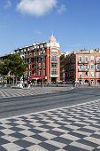 Architecture Of Massena Square In Nice