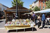 Cours Saleya In Nice In France