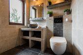 Modern Beauty Toilet