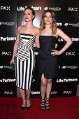 LOS ANGELES - NOV 18:  Leighton Meester, Gillian Jacobs at the