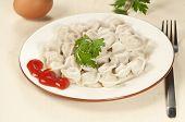 Meat Dumplings (pelmeni)