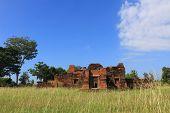 Castle Chang Pi ,the ancient khmer temple