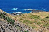 Bay Of Salina Under Cliff
