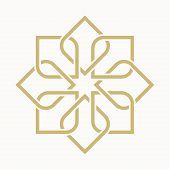 picture of arabic  - geometric arabic pattern - JPG