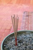 Burning Joss Stick