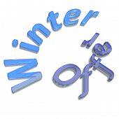 Three-dimensional Inscription Winter Offer