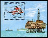 Post Stamp From Vietnam