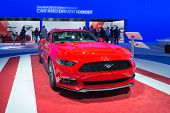 Ford Mustang Gt 2015 Car On Display