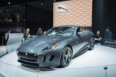 Jaguar F-type Car 2016 On Display