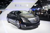 Cadillac Elr Car On Display