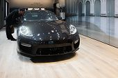 Porsche Panamera Turbo S 2015 On Display