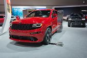 Jeep Grand Cherokee Srt 2015 On Display