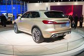 Lincoln Mkx 2015 Concept Car On Display