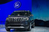 Ford Explorer 2015 On Display