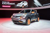 Nissan Juke 2015 On Display