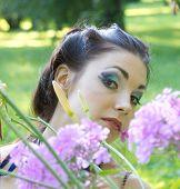 Vivid Makeup Vogue Model