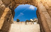 Arch close up view, Odeon of Herodes Atticus