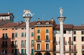 Lords' square in Beautiful Vicenza