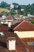pic of vicenza  - View of typical roofs of some houses in Vicenza - JPG