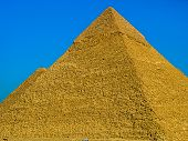 The Great Pyramid at Giza, Egypt.