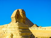 The Great Sphinx of Giza, Cairo, Egypt.
