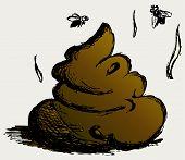 foto of feces  - Feces cartoon - JPG