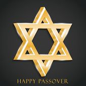 stock photo of passover  - illustration for Happy Passover in gray background - JPG