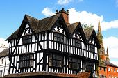 image of hereford  - The High House in High Town Built in 1621 Hereford Herefordshire England UK Western Europe - JPG