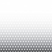 foto of color spot black white  - Seamless background pattern with dots - JPG