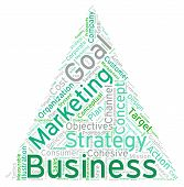 image of pyramid shape  - Pyramid shaped business word cloud on a white background - JPG