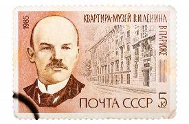 picture of lenin  - USSR  - JPG