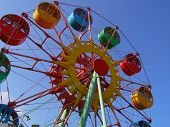 Kiddie Ferries Wheel