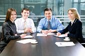 image of real-estate-team  - Business meeting  - JPG