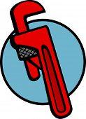 pic of pipefitter  - stilson or pipe wrench - JPG