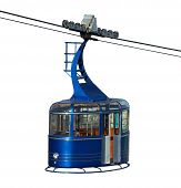 Cablecar Isolated