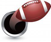 popping through hole football