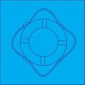 life ring blueprint